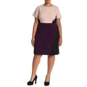Vince Camuto Plus Size Color Block Sheath Dress